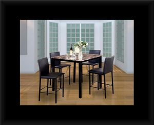 Counter height table with 4 chairs for Sale in Hyattsville, MD