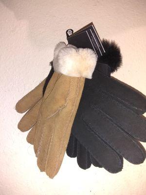 2 pair of UGGs sheepskin gloves for men for Sale in Orlando, FL