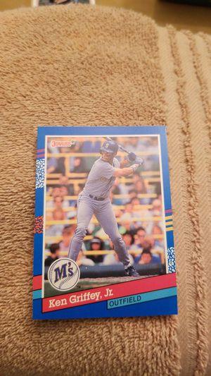 1991 Donruss Ken Griffey jr. Baseball Card for Sale in Millersville, MD
