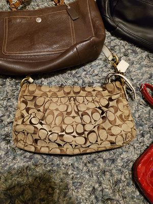 Coach C shoulder purse med to small size for Sale in Tampa, FL