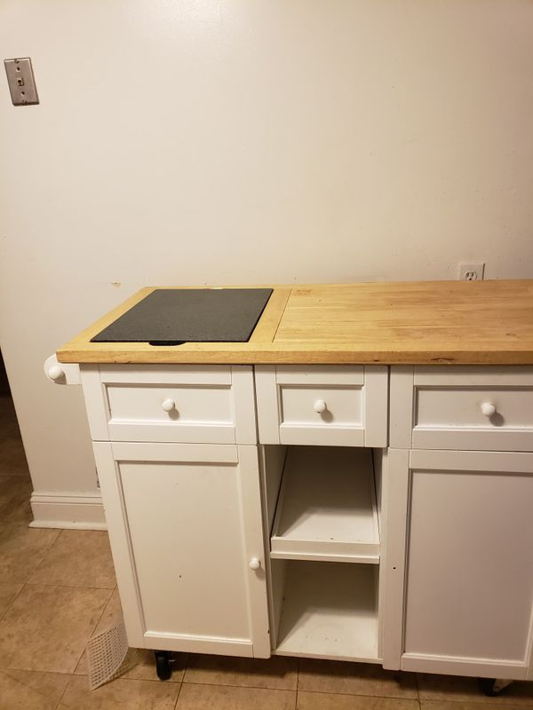 Kitchen island free A donation is required
