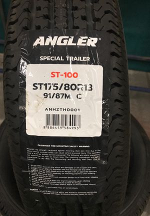 ST175/80R13 Angler Special Trailer Tires for Sale in Phoenix, AZ