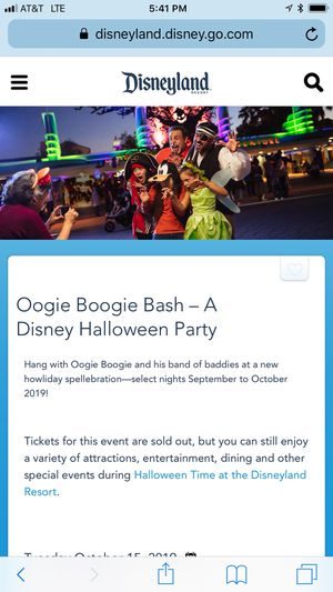 Disney oogie boogie bash Halloween party for Sale in Valley Center, CA