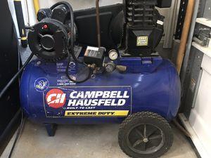 Campbell Hausfeld 20 gallon 5 hp compressor for Sale in San Diego, CA