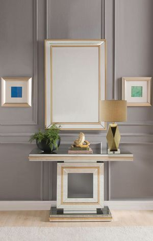 New Osma console table and mirror set for Sale in Miami, FL