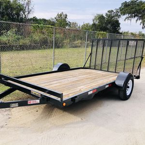 6.5x14 Flatbed Trailer With Ramp for Sale in Windermere, FL