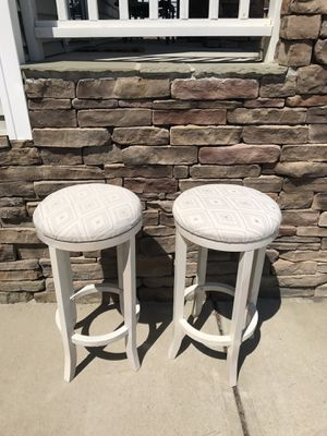 Two bar stools for sale for Sale in Knightdale, NC