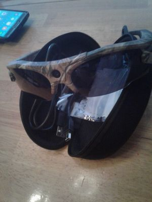 Camo camera/video sunglasses for Sale in Manton, MI