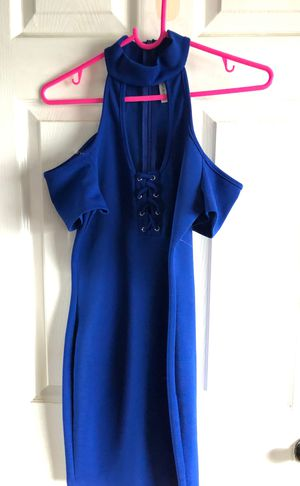 Love republic royal blue dress for Sale in San Diego, CA