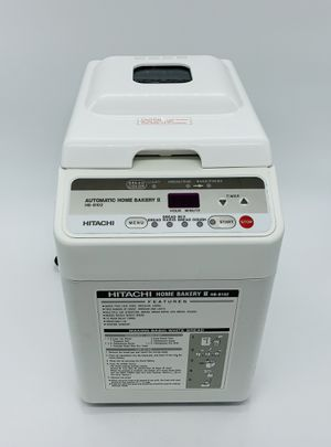 Hitachi Automatic Home Bakery Plus Bread Machine Model HB-B201 Bread Maker for Sale in Canby, OR
