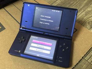 Metalic Blue DSI - (no games or charger) for Sale in Midland, MI