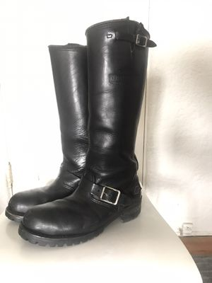 Harley Davidson Tall motorcycling boots 9 for Sale in Beverly Hills, CA