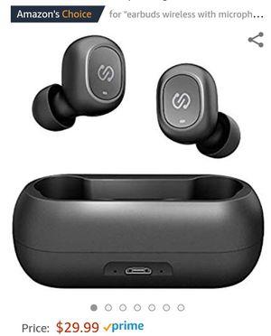 SoundPEATS TrueFree True Wireless Earbuds Bluetooth 5.0 in-Ear Stereo Bluetooth Headphones for Sale in San Diego, CA