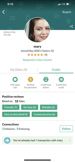 Rating for this seller for Sale in Mauldin, SC