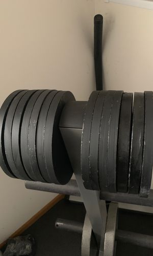 5 pound Olympic plates ( 14 total 70 pounds for Sale in Romeoville, IL