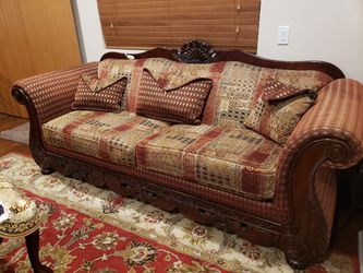 Sofa sets with coffee table, 2 end tables and 2 lamps for Sale in Los Angeles,  CA