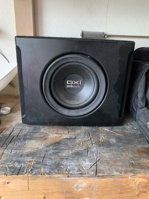 "Polk audio 8"" sub for Sale in Brooks, OR"