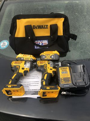 Dewalt brushless drill and impact set for Sale in Dacula, GA