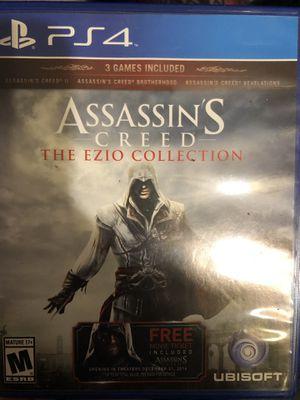 Assassin's Creed Ezio Collection [PS4] for Sale in Abilene, TX