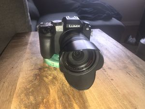 Panasonic Lumix G7H with box and Lumix G Vario Lense 14-140mm for Sale in Los Angeles, CA