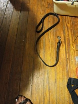 Leather leash for Sale in Akron, OH