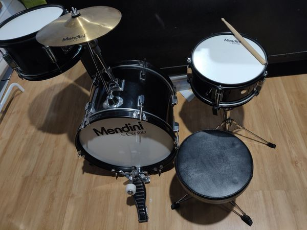 Kids 3 piece drum set