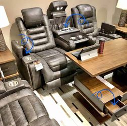 Game Zone Brown Reclining Sofa and Loveseat | Ashley |$39 Down | Best Price for Sale in Irving,  TX
