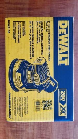 """NEW 2019 DeWALT Brushless 20vMAX XR 5"""" Cordless Random Orbital Sander (Tool Only)! for Sale in Lebanon, PA"""