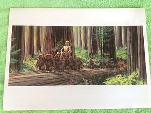"""Return of the Jedi 1983 print (11"""" x 15.5"""") for Sale in Irving, TX"""