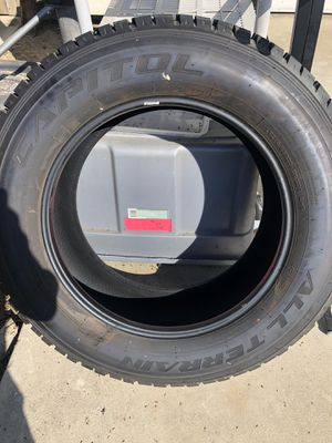 Capital all Terrain tire LT275/65/20 for Sale in Fresno, CA