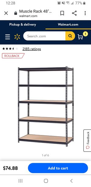 Metal shelving for Sale in Hillsboro, OR
