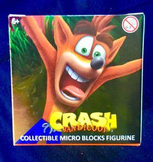 Crash bandicoot rare collectable block figure for Sale in Bellflower, CA