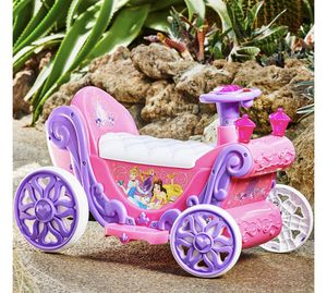 New in box Disney princesses carriage ride on battery operated for Sale in Apopka, FL