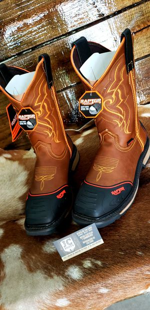 Work /boots /raptors/ for Sale in Houston, TX