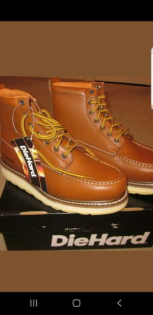 DIEHARD BOOTS SLIP OIL NEW ALL SIZE AVAILABLE ONLY 65 for Sale in Lynwood, CA