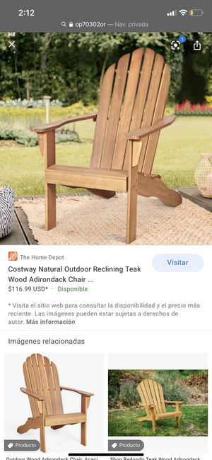 Wood Chair for Sale in Bakersfield, CA