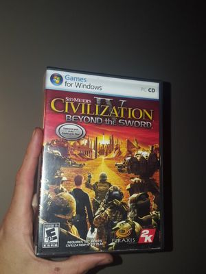 Complete in box, Microsoft Windows Sid Meiers Civilization 4 Expansion Pack Computer PC CD disc game for Sale in Maryville, TN