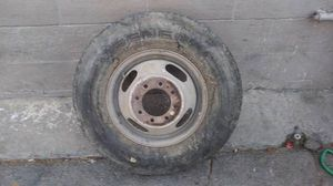 16 inch steel dually rim. 8 on 6.5 lugs, Ford, Dodge, Chevy for Sale in Commerce, CA