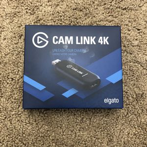 Elgato Cam Link 4K Capture Adapter HD Streaming 1080p 720p USB 3.0 for Sale in Braintree, MA