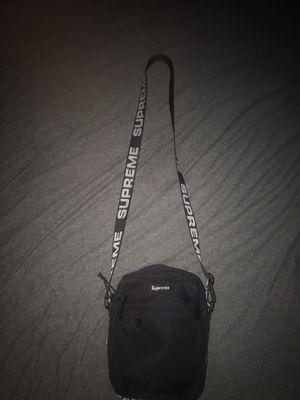 Supreme Shoulder Bag (SS18) Black for Sale in Fresno, CA