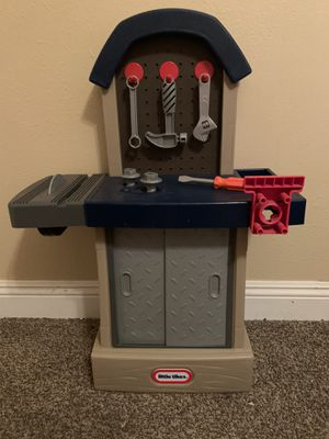 little tikes small toddler tool bench for Sale in Fontana, CA