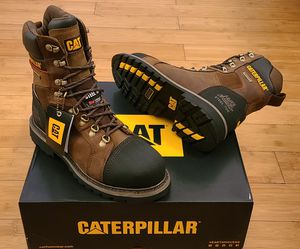 CAT Work Boots size 7.5,8.5 and 14 for Men. for Sale in Lynwood, CA