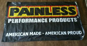 Painless performance products shop racing banner for Sale in Everett, WA