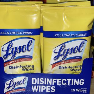 LYSOL TO GO! 12 (15 Packs) for Sale in Hueytown, AL