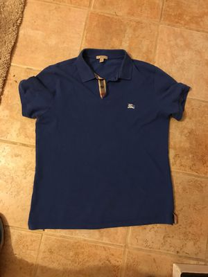 Men's Burberry shirt (fits like a large ) for Sale in Cincinnati, OH