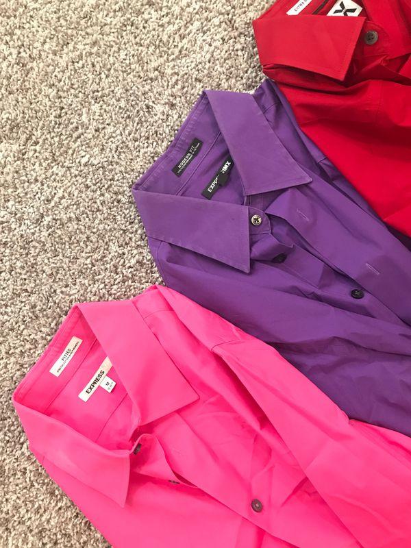 Express dress shirts (SIZE MEDIUM)
