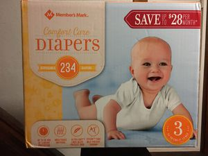 Size 3 diapers for Sale in Cleveland, OH