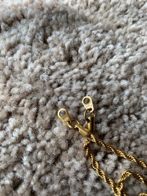 """The gold gods 20"""" neck lace 18k pvd for Sale in San Diego, CA"""