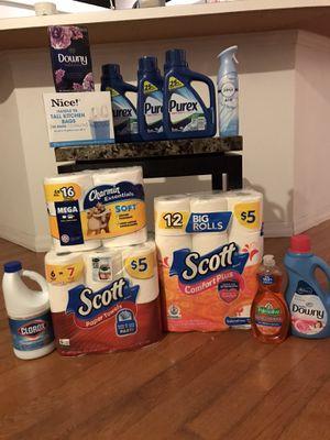 Purex Liquid Detergent/Household Bundle for Sale in Daytona Beach, FL