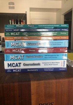 Full set of NextStep MCAT prep books for Sale in Salt Lake City, UT